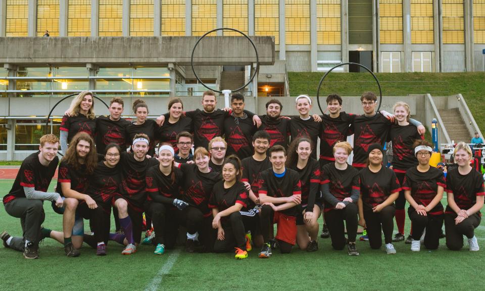 SFU Quidditch team photo