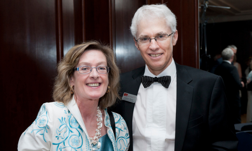 Andrew Petter and Maureen Maloney