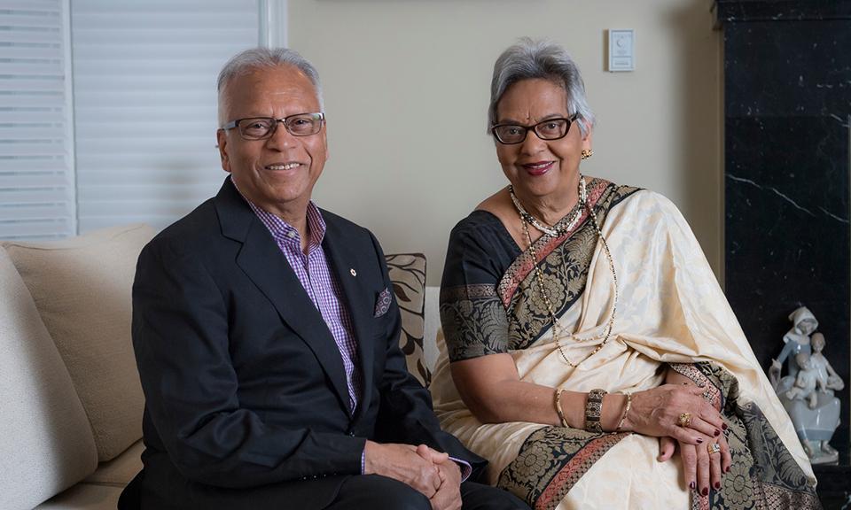 Madhu and Hari Varshney